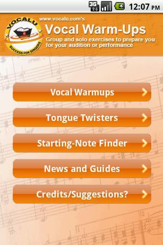 Vocal Warmups Tongue Twisters