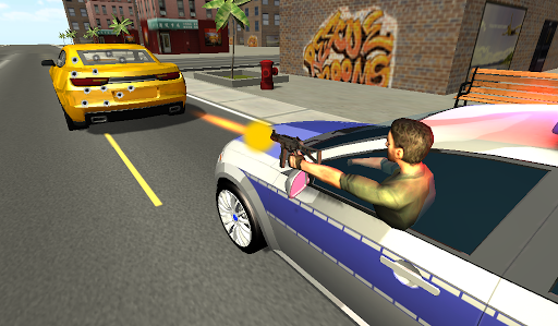 Police Car Chase 3D Screenshot