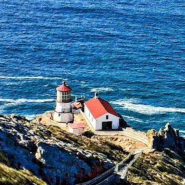 Pacific Lighthouse by Lou Plummer - Instagram & Mobile iPhone ( photostream, iphone,  )
