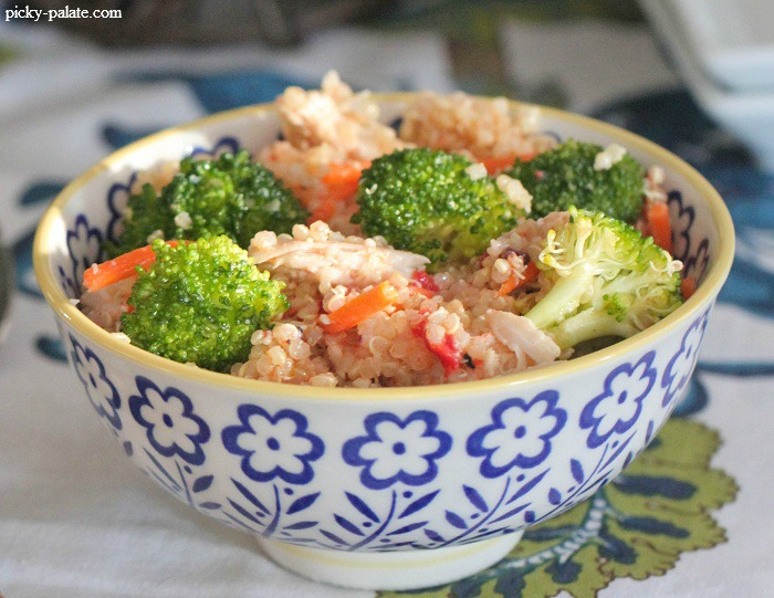 Roasted Chicken Quinoa Salad Recipe   Yummly