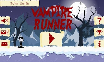 Screenshot of Vampire Runner