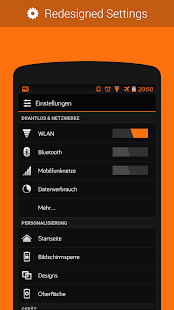 CM11/PA Theme - Orange - screenshot