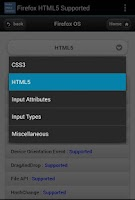 Screenshot of HTML5 Supported for Firefox