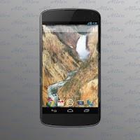 Screenshot of Waterfall Video Wallpapers