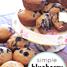 Simple Blueberry Muffin