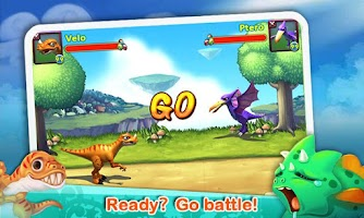 Screenshot of Dino Paradise with Papaya