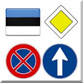APK App Estonian road signs for BB, BlackBerry