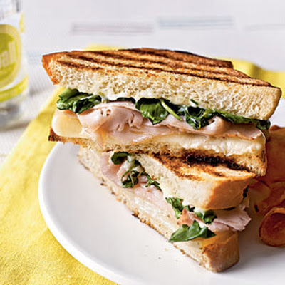 Turkey Panini with Watercress and Citrus Aioli