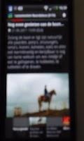 Screenshot of Nieuws Polder Evenementen