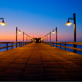 Namibia by Andre Bez - Novices Only Landscapes ( lights, sunset, sea, walkway, jetty )