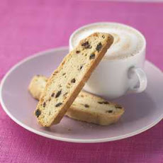 Cherry Ginger Biscotti