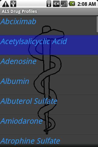 ALS Drug Profiles