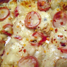 Margherita Pizza ( White Pizza )