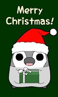 Screenshot of Pesoguin LWP Christmas Penguin