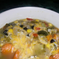 Southwestern Bean and Veggie Stew