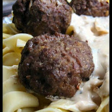 Sophisticated Meatballs