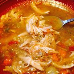 Mama Mandola's Sicilian Chicken Soup