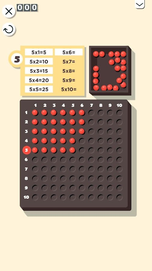 Montessori Math Multiplication Screenshot 1