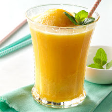 Peach Breakfast Slush