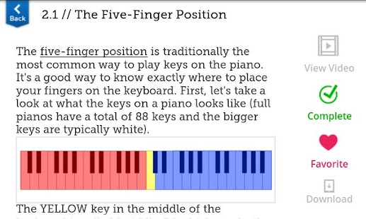 Learn Piano HD - screenshot