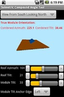 Screenshot of Compound Angle Tool