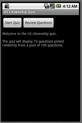 US Citizenship Test Training
