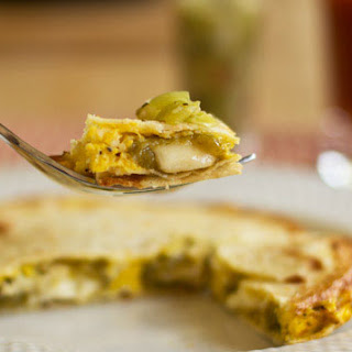 Chile Relleno Egg Quesadilla