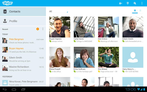 Screenshot #2 of Skype - free IM & video calls / Android