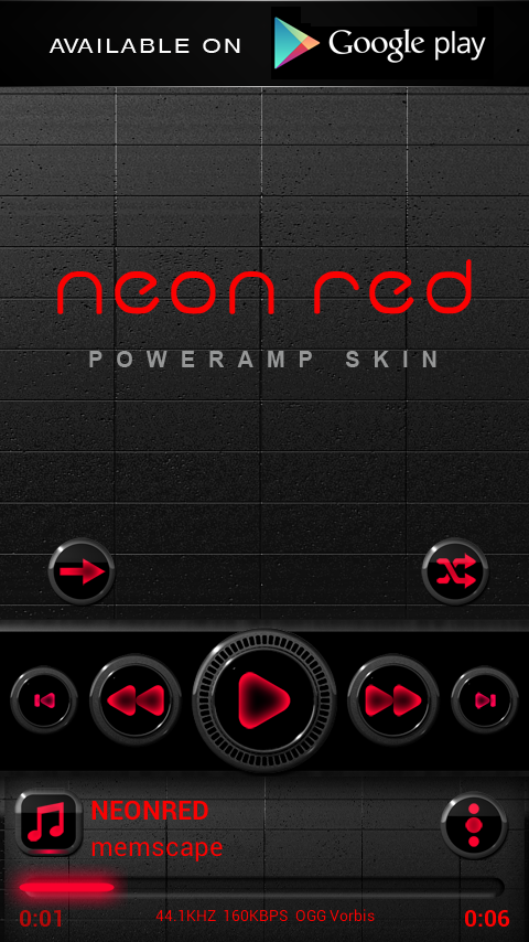 Next Launcher Theme Neon Red Screenshot 7