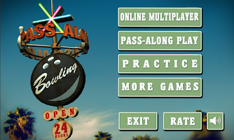 Screenshot of Pass Along Bowling