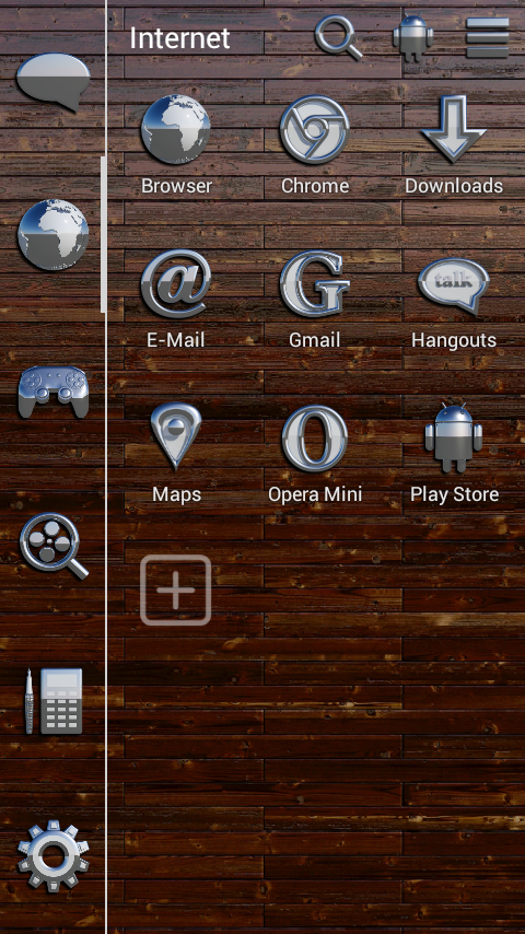 OSLO Smart Launcher Theme Screenshot 2