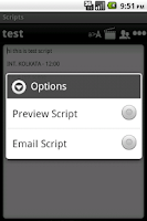 Screenshot of Scripts Expert