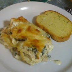 Chicken, Spinach and Parmesan Lasagne
