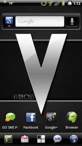 Vitreous Theme for CyanogenMod