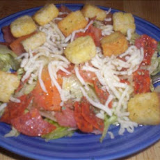 Mama Rose's Pepperoni Pizza Salad