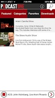 Screenshot of PodcastOne - Best 200 Podcasts