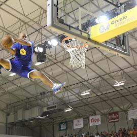 Flying Warrior by Brad Kava - Sports & Fitness Basketball
