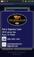 Screenshot of Paris Express Care