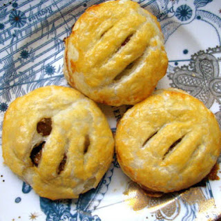 Eccles Cakes (Stuffed Pastry with Brandy-Soaked Raisins)