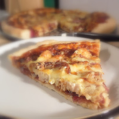 Barbequed Turkey Pizza