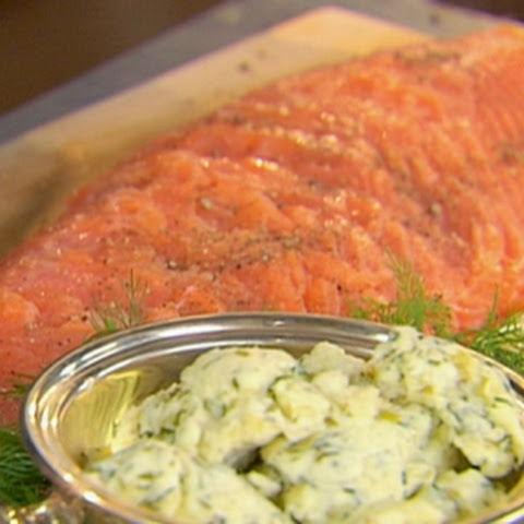 Smoked Salmon and Herb Butter