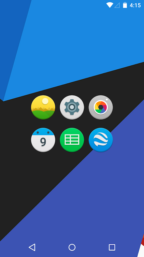 Audax - Icon Pack Screenshot 1