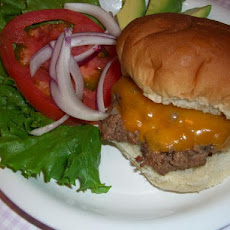 Juicy Pan Fried Burgers