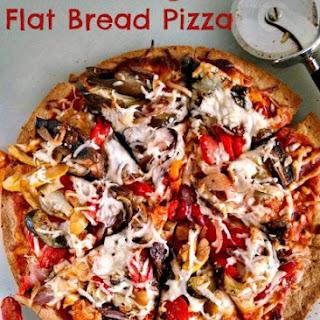 Roasted Vegetable Flatbread Pizza Recipes