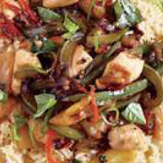 Thai-Style Chicken with Basil and Pineapple