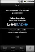 Screenshot of Rede Pampa/Rádio Continental