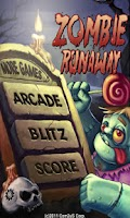 Screenshot of Zombie Runaway