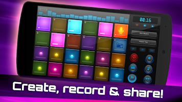 Screenshot of DJ Mix Pads