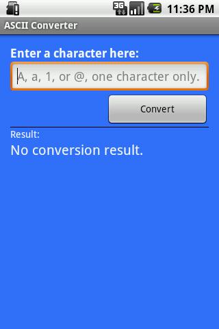 my ASCII Converter