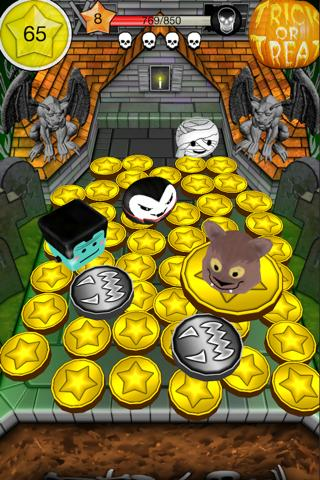【免費博奕App】Coin Dozer Halloween-APP點子
